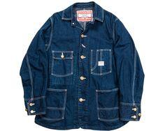 Railroaders Sanfordized Shrunk work coat.