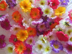 30 Deko Streu Blüten Künstliche Kunst Blumen Floristik Tischdeko Frühling Fest