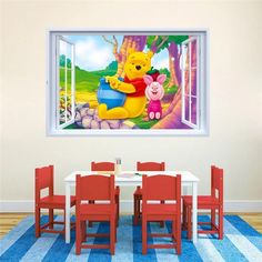 Winnie The Pooh Wall Decals & Wall Stickers – the treasure thrift