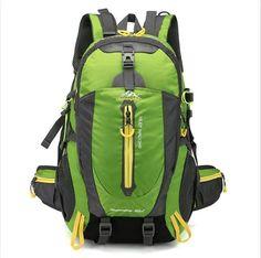 cadc611deb80 Waterproof Climbing Backpack Rucksack 40L Outdoor Sports Bag Travel Camping  Hiking Backpack Women Daypack Trekking Bags For Men