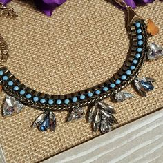 Statement necklace Pretty statement necklace.  16 inches plus extender. Jewelry Necklaces