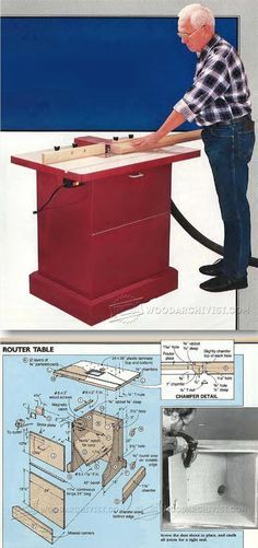 Make Router Table - Router Tips, Jigs and Fixtures | WoodArchivist.com