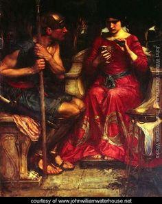 Jason and Medea (1907 - John William Waterhouse - www.johnwilliamwaterhouse.net