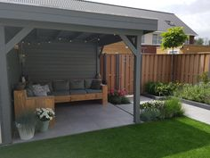 garden terraza Back Garden Design Garden Ideas Budget Backyard, Backyard Patio Designs, Small Backyard Landscaping, Patio House Ideas, Balcony Ideas, Diy Garden, Garden Planters, Shade Garden, Diy Gazebo