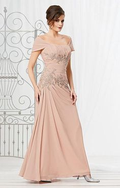 337861acf1 Caterina 2037 MOB Dress with Removable Wrap. Mob DressesFormal  DressesWedding ...
