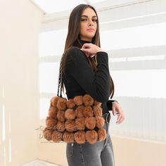 £20.80 #ootd #fur #bag #furbag #handabag #pompom #handmade #boutique #boutiquefashion #boutiquestyle #new #womenswear #womenfashion #womenstyle #ladyfashion #ladystyle #realfur Boutique Fashion, Fur Bag, Ootd, Fur Pom Pom, Rabbit Fur, Lady, Bag Making, Straw Bag, Night Out