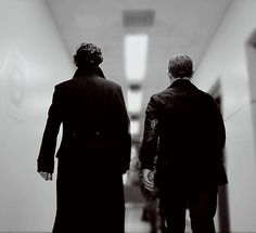 Together.  If there was one word to descibe the stories and characters of Sherlock, it would be together.