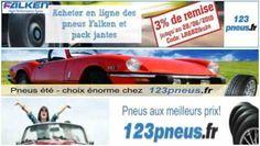 Pneu code de réduction, France.  3% réduction sur les Falken pneus et les roues complètes