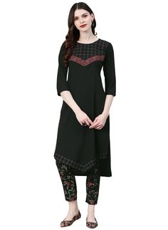Superb craftmanship of embellishments exhibited in this black faux crepe casual kurti. Look ravishing clad in such a attire that is enhanced embroidered work. (Slight variation in color, fabric & work is possible. Model images are only representative.) Latest Kurti Design HAPPY INDEPENDENCE DAY - 15 AUGUST PHOTO GALLERY  | 1.BP.BLOGSPOT.COM  #EDUCRATSWEB 2020-08-12 1.bp.blogspot.com https://1.bp.blogspot.com/-qjTWIPto5d8/W3N6EF_ZkQI/AAAAAAAAAe8/00fcwiT3EjgpGlGAI7dfVVqd3LgLfYigwCLcBGAs/s640/Independence-Day-GIF.gif