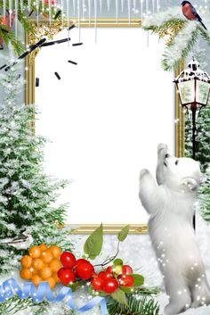 Christmas frames, png, frames