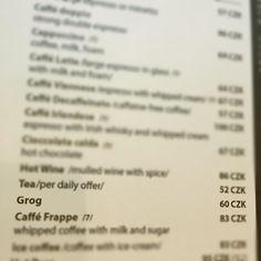 Grog?! #weirdthingsinPrague #weirdthingsfoundinrestaurants #grogtastic