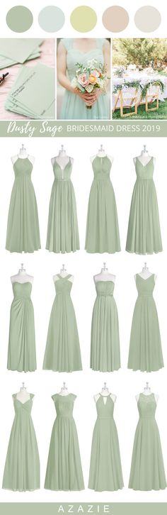 Dress your bridesmaid in this romantic soft green! Available in sizes 0-30 and free custom sizing! Find the perfect bridesmaid dress at Azazie - 300+ Styles From $79!