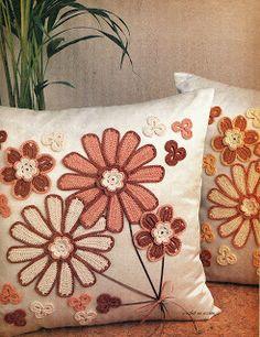 Crochet En Acción: Flores y más flores