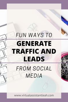 Looking for more ways to generate traffic on social media? Try out these six fun and creative ways to gain traffic from social media. Email Marketing Strategy, Marketing Goals, Business Marketing, Online Marketing, Social Media Marketing, Online Business, Digital Marketing, Sales Strategy, Email List