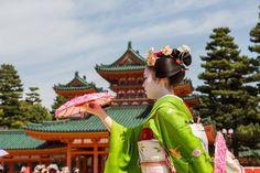 https://flic.kr/p/Gdj9Jg | Heian Shrine: Reisai Festival in Kyoto.