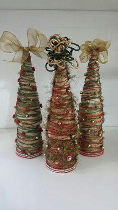 Christmas trees. Árvores de Natal.