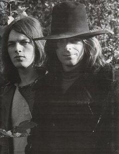 David Gilmour, Rick Wright