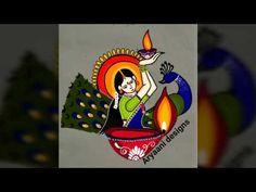 festival of lights . for more diwali special and unique rangolies plwase click be. Rangoli Designs Simple Diwali, Happy Diwali Rangoli, New Year Rangoli, Rangoli Designs Latest, Free Hand Rangoli Design, Diwali Craft, Rangoli Designs With Dots, Beautiful Rangoli Designs, Pookalam Design