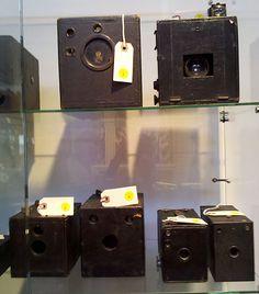 Box cameras  from the Edward K. Kaprelian Collection.