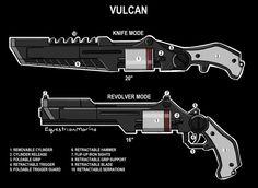 Knife revolver