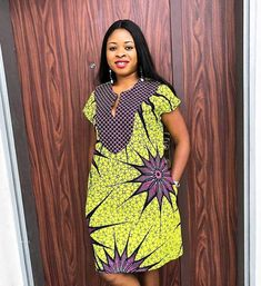 Sundays are for Outings 😍😍😍😍 beautiful Customer all shades of beautiful in her Nina dress we love😘😘😘😘😘😘 African Fashion Ankara, Latest African Fashion Dresses, African Print Fashion, Africa Fashion, Tribal Fashion, African Style, Short African Dresses, African Print Dresses, African Prints