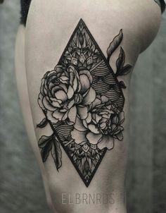 Geometric floral inspiration