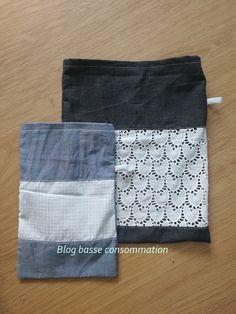 DIY tuto sac à vrac couture recyclage récup