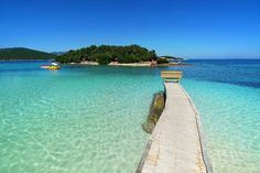 Ksamil, Albania. Albania Beach, Albania Travel, Visit Albania, Places Around The World, Travel Around The World, Around The Worlds, Most Beautiful Beaches, Beautiful Places, Places To Travel