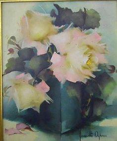 jeanette dykman artist - Google Search Watercolor Flowers, Watercolour, Flower Art, Creative, Artist, Painting, Google Search, Pen And Wash, Watercolor Painting