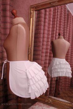 Victorian Bustle Cage Crinoline Tournure ~ Wedding Panniers Hoops Bustle Dress…