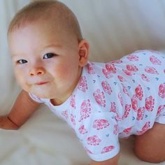 Baby Onesie made with organic and Fairtrade certified cotton. Baby Onesie, Onesies, Our Baby, Fair Trade, Screen Printing, Organic, Pure Products, Printed, Cotton