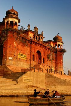 On the Ganges, India. Varanasi, Rishikesh, Places To Travel, Places To See, Amazing India, India Travel, Beautiful Places, Simply Beautiful, Shimla