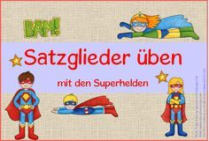 Deutsch in der Grundschule: Satzglieder-Kartei