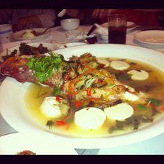 Steamed Grouper