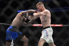 Former WSOF (World Series of Fighting) lightweight champion Justin Gaethje made a monstrous impact during his UFC debut last night (July 7, 2017), scoring a second-round stoppage victory over Michael Johnson in a back-and-forth slugfest that headlined The Ultimate Fighter (TUF) 25 Finale.   #Instant Articles #Justine Gaethje #michael johnson #MMA #The Ultimate Fighter 25 Finale #ufc Michael Johnson, Conor Mcgregor, July 7, World Series, Ufc, Victorious, Champion, Articles, Night