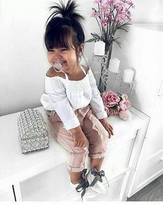 Cute Baby Girl Outfits, Cute Baby Clothes, Toddler Outfits, Babies Clothes, Toddler Girls, Children Outfits, Baby Girl Stuff Newborn, Infant Girl Clothes, Summer Clothes