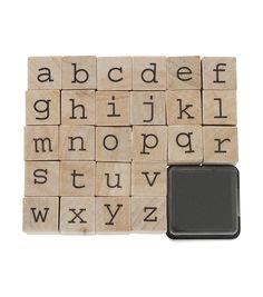 set de tampons alphabet - HEMA