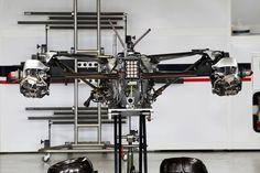 Round 1, Rolex Australian Grand Prix 2013, Preparation, Sauber F1 Team C32, Rear Suspension Detail
