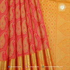 This pure silk saree is what you need to bring shine to auspicious events make you gorgeous during the family occasions and special moments with traditional and trend values. This pure silk saree accentuates the feeling of joy and spirit of celebration. Latest Silk Sarees, Soft Silk Sarees, Silk Sarees Online, Wedding Silk Saree, Jr, Celebration, Hand Weaving, Spirit, Nail Art