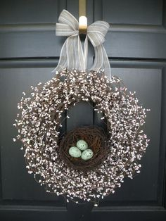easter wreath. will make.,,,pretty