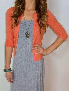A girl can never have too many cardigans! http://www.sexymodest.com/collections/basics/products/three-quarter-cardigan @modestshoppin