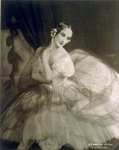 Anna Pavlova. Russian ballerina who danced for the Imperial Russian Ballet and is known for being one of the finest classical dancers in history.