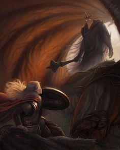 —Andrew Silver Eowyn and the Nazgul
