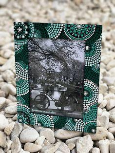 Items similar to Mandala design picture frame on Etsy Dot Art Painting, Mirror Painting, Mandala Painting, Ceramic Painting, Painting Frames, Mandala Design, Mandala Dots, Painted Picture Frames, Picture On Wood