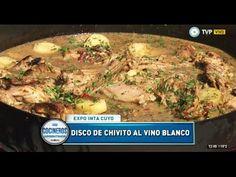 Chivito al vino blanco al disco de arado - Recetas – Cocineros Argentinos