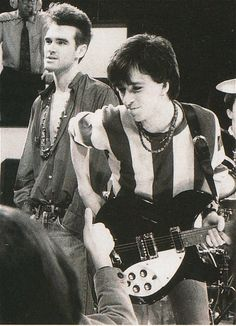 PHOTO: The Smiths (Morrissey and Johnny Marr)...