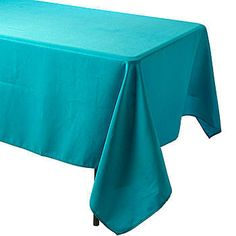 The Bermuda Blue Rectangular Polyester Tablecloth have a seamless design that will give your tables a flawless look.
