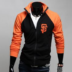 d8e4f7aec8b87 Mens Baseball Jacket Letterman Varsity jacket sweatshirt Turtleneck Coat  Black M-XXL