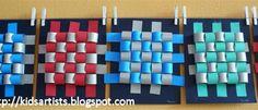 Kids Artists: Wavy weaving 2019 Kids Artists: Wavy weaving The post Kids Artists: Wavy weaving 2019 appeared first on Weaving ideas. Art Lessons For Kids, Artists For Kids, Art Lessons Elementary, Art For Kids, Paper Weaving, Weaving Art, Weaving Textiles, Weaving Kids, Hand Weaving