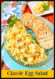 Easy Egg Salad recipe for beginner cooks! Quick, easy and perfect as a snack or egg salad sandwich. Southern Egg Salad Recipe, Classic Egg Salad Recipe, Southern Recipes, Salad Recipes, Healthy Recipes, Appetizer Recipes, Poppy Seed Chicken Salad, Dill Pickle Relish, Easy Egg Salad